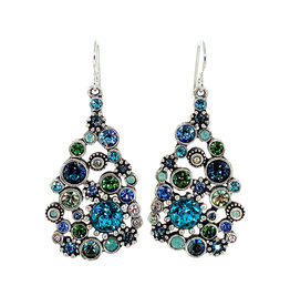 PATRICIA LOCKE ZEPHYR GLAM EARRINGS
