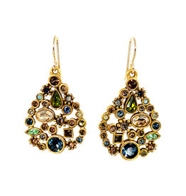 PATRICIA LOCKE CASCADE ST PETERSBURG EARRINGS