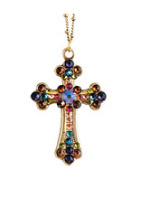 ANNE KOPLIK DESIGNS MULTI CROSS NECKLACE
