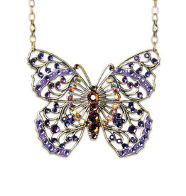 ANNE KOPLIK DESIGNS BRIALLEN PASSION BUTTERFLY NECKLACE
