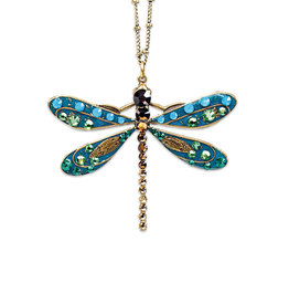 ANNE KOPLIK DESIGNS ELSIE DRAGONFLY NECKLACE