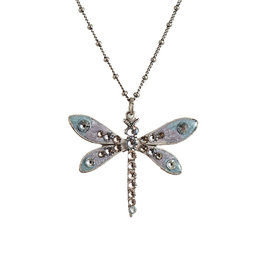ANNE KOPLIK DESIGNS MYSTICAL DRAGONFLY NECKLACE