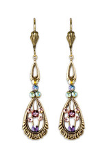 ANNE KOPLIK DESIGNS VIOLA RENAISSANCE  REVIVAL EARRINGS