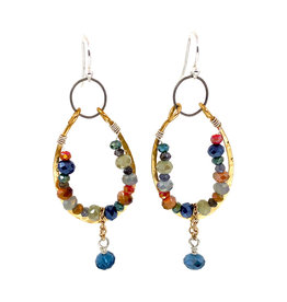 ART BY ANY MEANS CRYSTAL CANYON EARRINGS