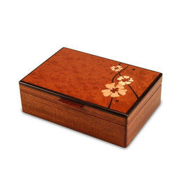 HEARTWOOD CREATIONS MOON FLOWERS VALET BOX
