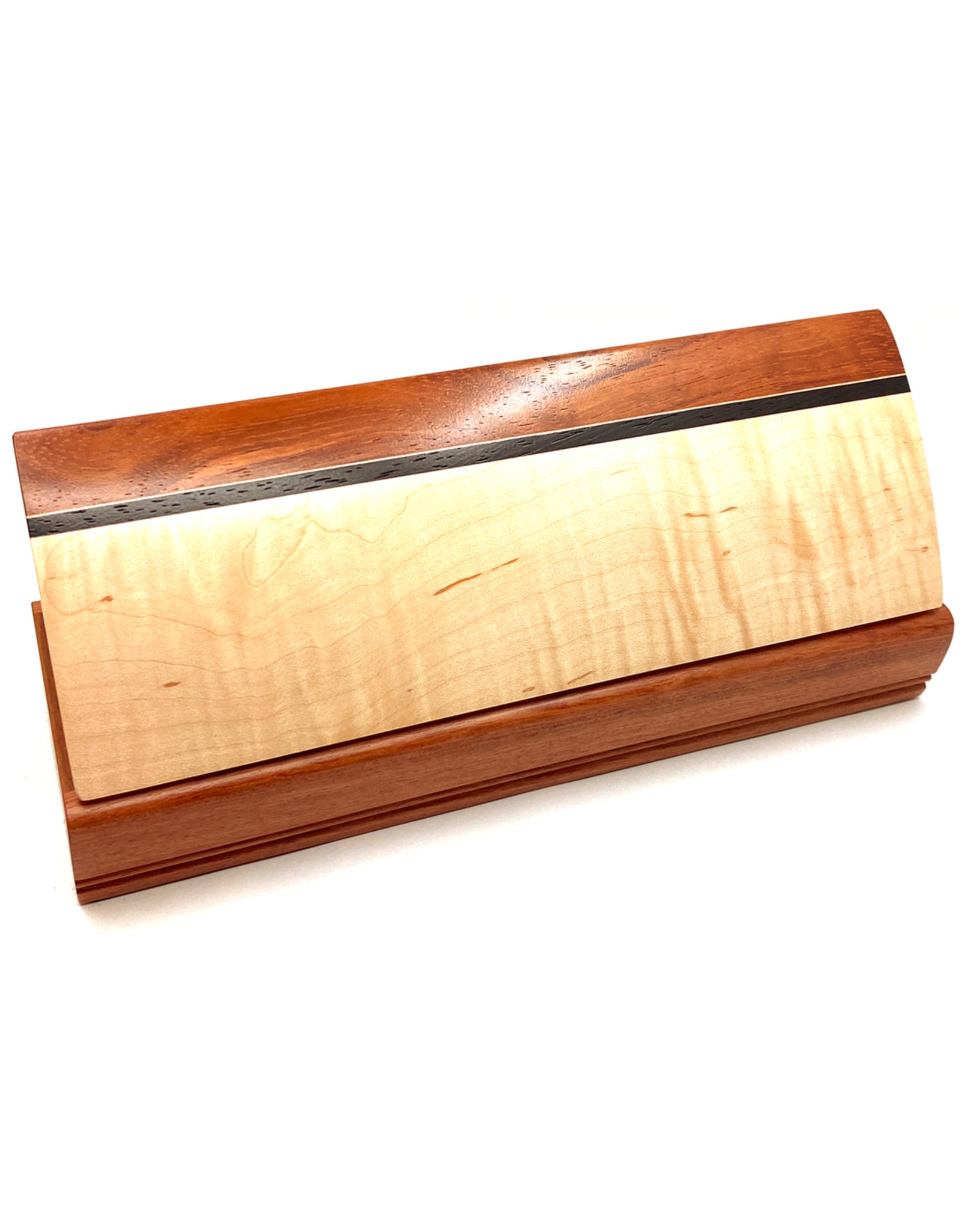 MIKUTOWSKI WOODWORKING MAPLE & BUBINGA NECKLACE BOX