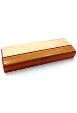 MIKUTOWSKI WOODWORKING MAPLE & PADUAK NECKLACE BOX