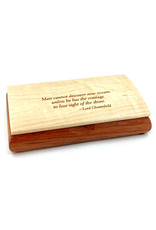 MIKUTOWSKI WOODWORKING COURAGE POSSIBILITY BOX