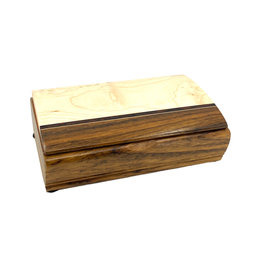 MIKUTOWSKI WOODWORKING SHEDUA & MAPLE TREASURE BOX