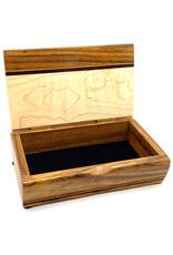 MIKUTOWSKI WOODWORKING SHEDUA & MAPLE TREASURE BOX