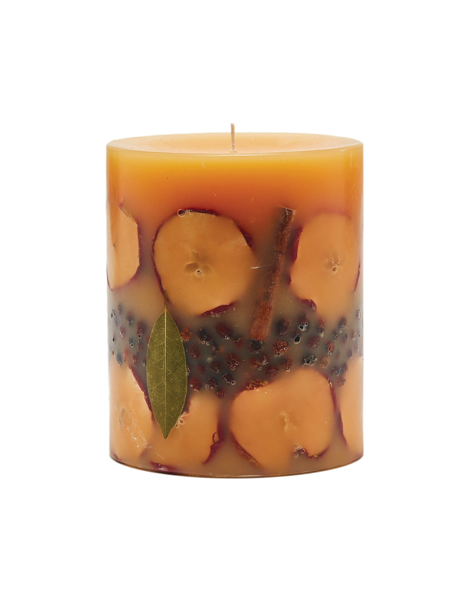 ROSY RINGS SPICY APPLE SMALL ROUND BOTANICAL CANDLE