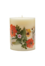 ROSY RINGS PEONY & POMELO SMALL ROUND BOTANICAL CANDLE