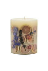 ROSY RINGS ROMAN LAVENDER SMALL ROUND BOTANICAL CANDLE