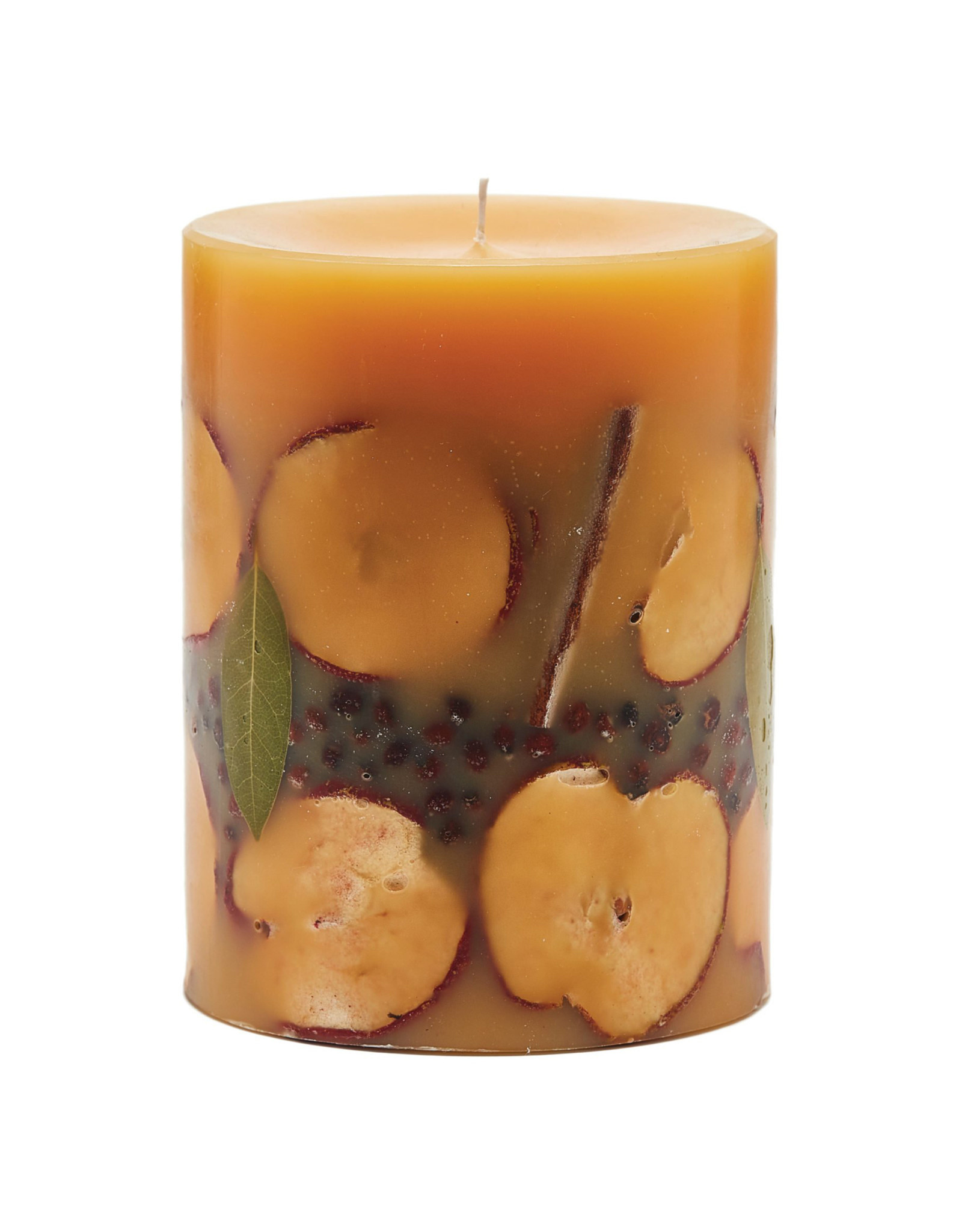 ROSY RINGS SPICY APPLE MEDIUM ROUND BOTANICAL CANDLE