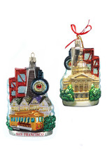 KURT ADLER SAN FRANCISCO CITYSCAPE ORNAMENT