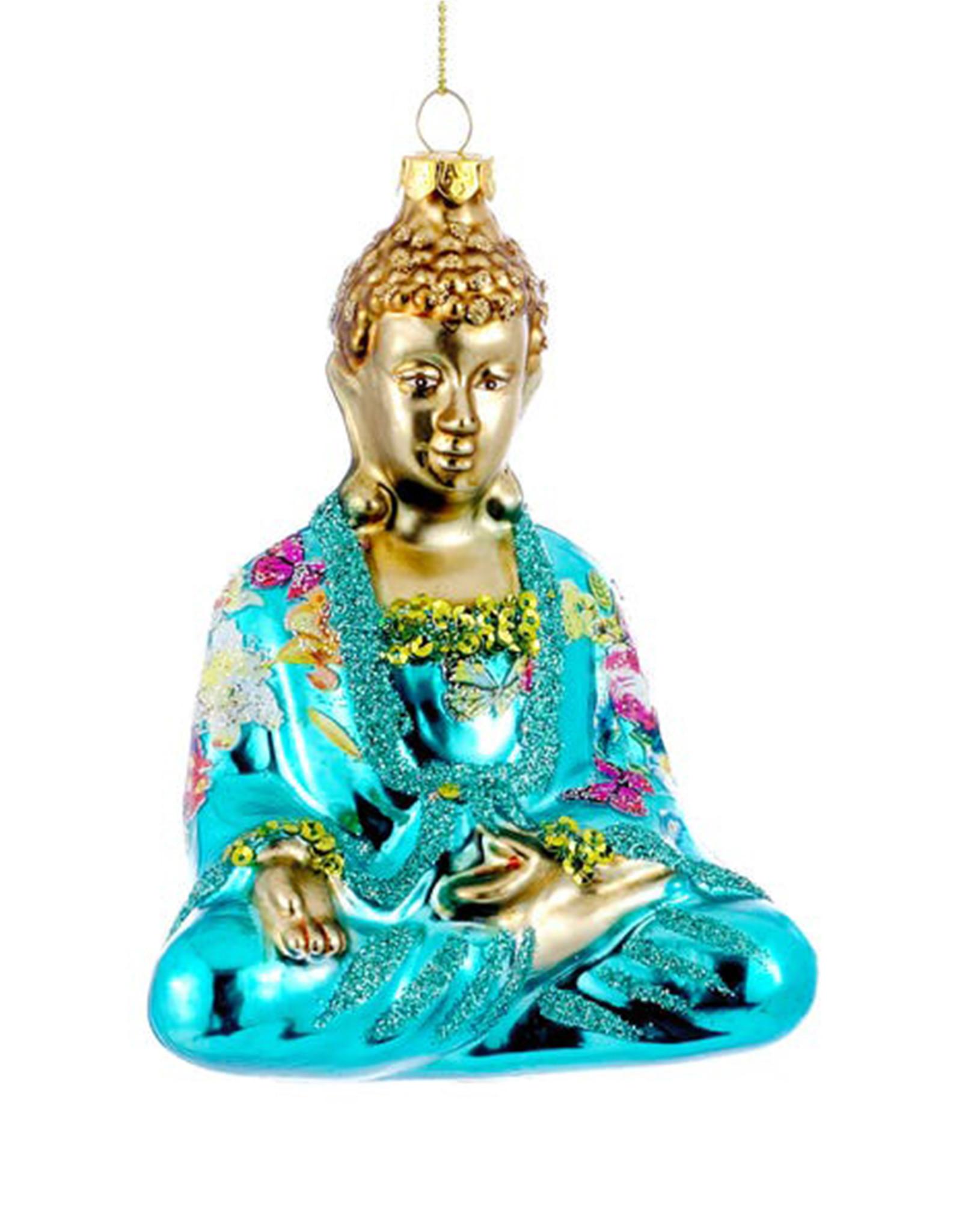 KURT ADLER BUDDHA ORNAMENT