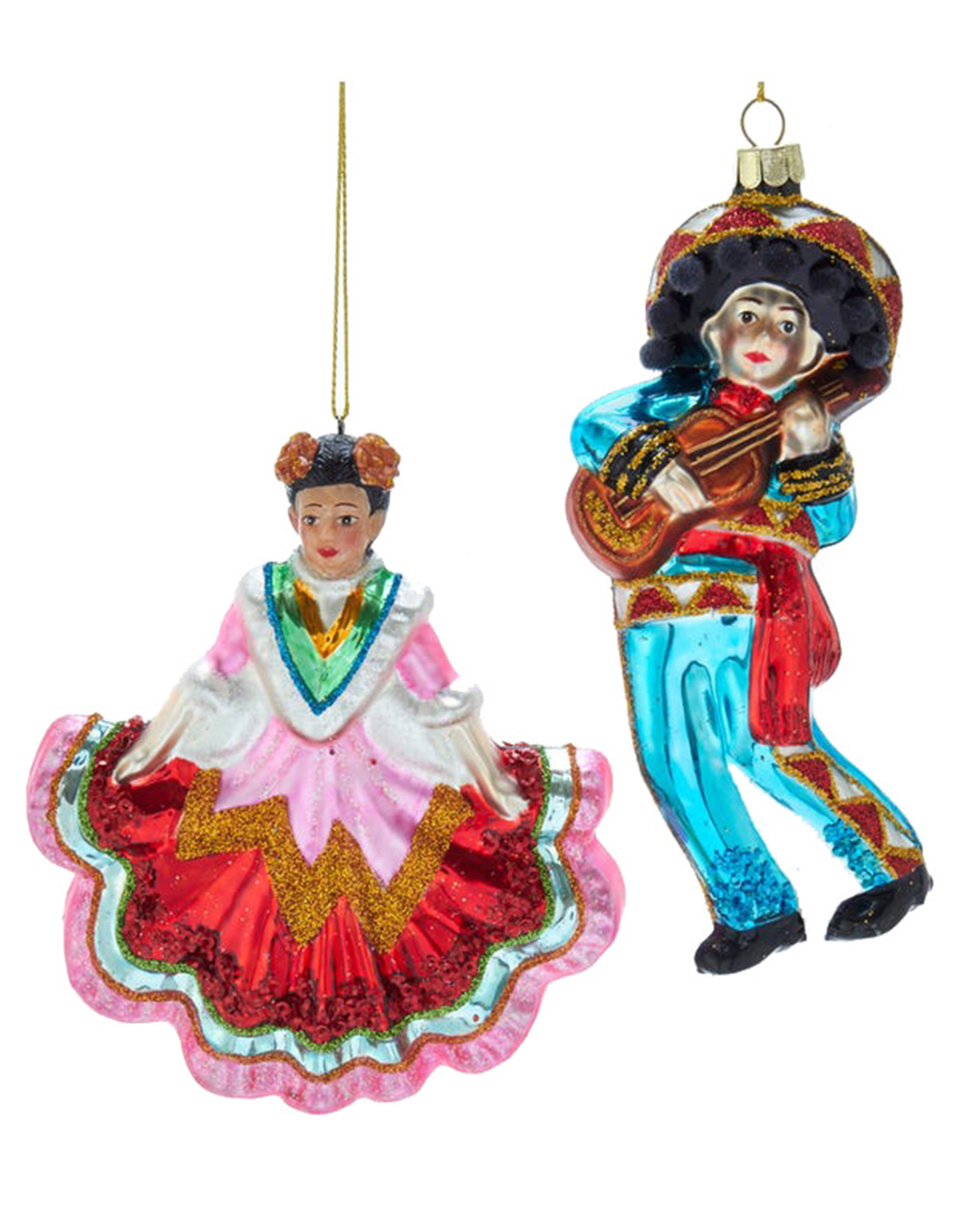 KURT ADLER MARIACHI DANCER ORNAMENT