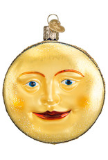 OLD WORLD CHRISTMAS MAN IN THE MOON ORNAMENT
