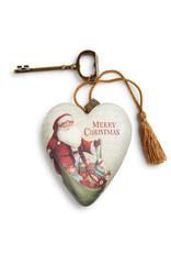 DEMDACO MERRY CHRISTMAS ART HEART