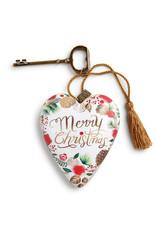 DEMDACO MERRY CHRISTMAS WREATH ART HEART