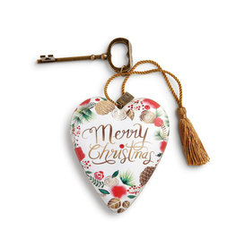 DEMDACO MERRY CHRISTMAS WREATH ART HEART
