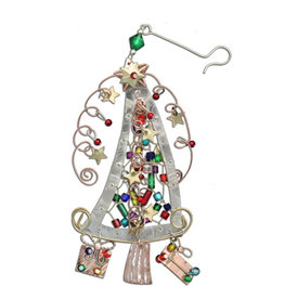 PILGRIM IMPORTS HAPPY TREE ORNAMENT
