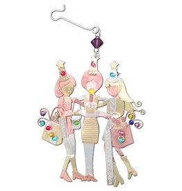 PILGRIM IMPORTS PARTY GIRLFRIENDS ORNAMENT