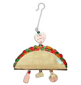 PILGRIM IMPORTS TACO TIME ORNAMENT