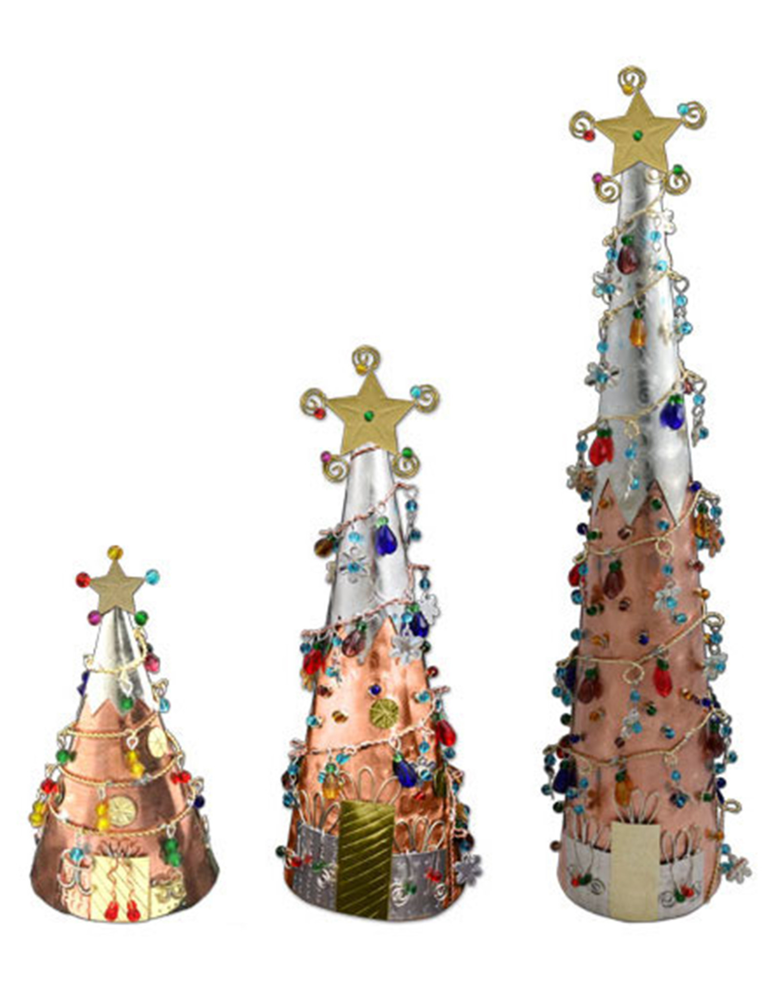 PILGRIM IMPORTS SMALL COPPER CHRISTMAS TREE