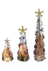 PILGRIM IMPORTS LARGE COPPER CHRISTMAS TREE