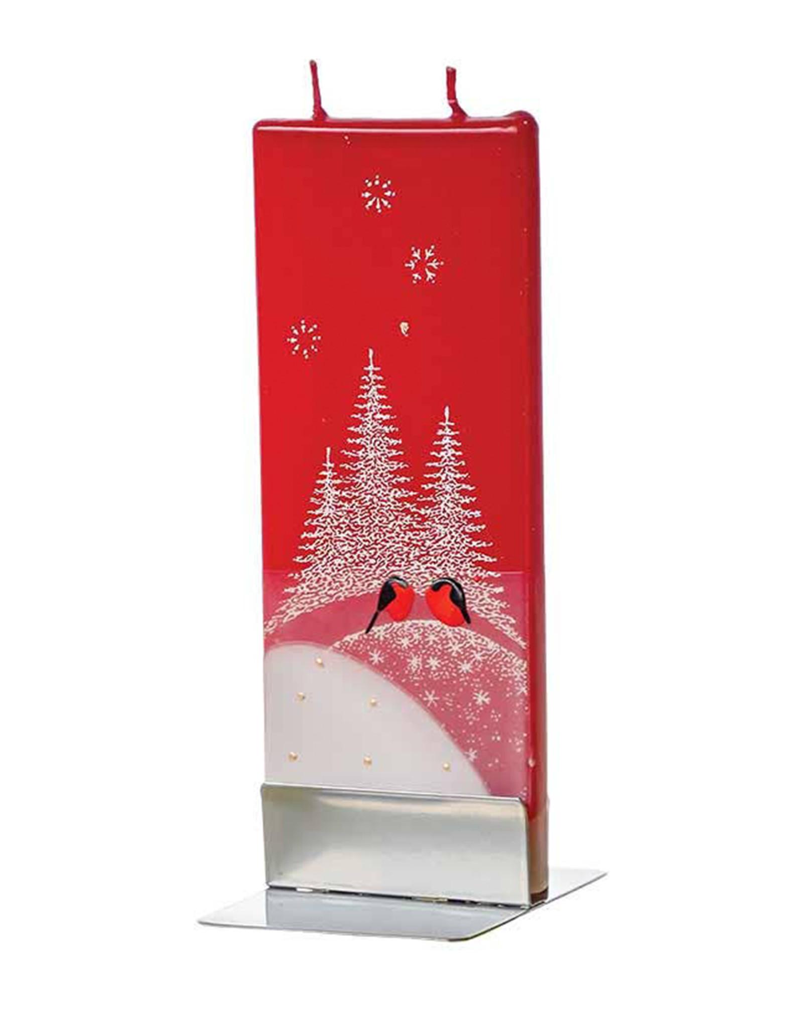 FLATYZ CHRISTMAS CARDINALS CANDLE