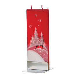 FLATYZ CHRISTMAS CARDINALS CANDLE