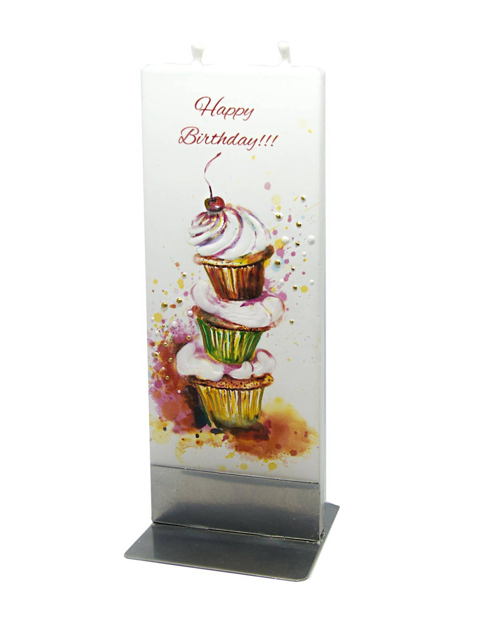 FLATYZ HAPPY BIRTHDAY CUPCAKES CANDLE