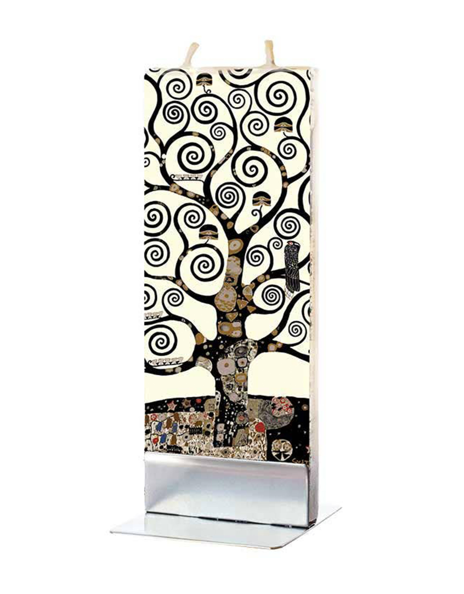 FLATYZ KLIMT TREE OF LIFE CANDLE
