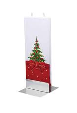 FLATYZ CHRISTMAS TREE BOW CANDLE