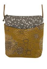 MARUCA BLOOMING SAFFRON CROSSBODY CUPCAKE BAG