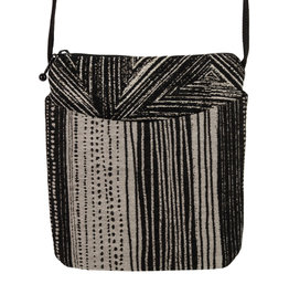 MARUCA SEEDLINGS BLACK CROSSBODY CUPCAKE BAG