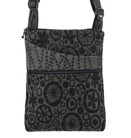 MARUCA MOD BLACK CROSSBODY POCKET BAG