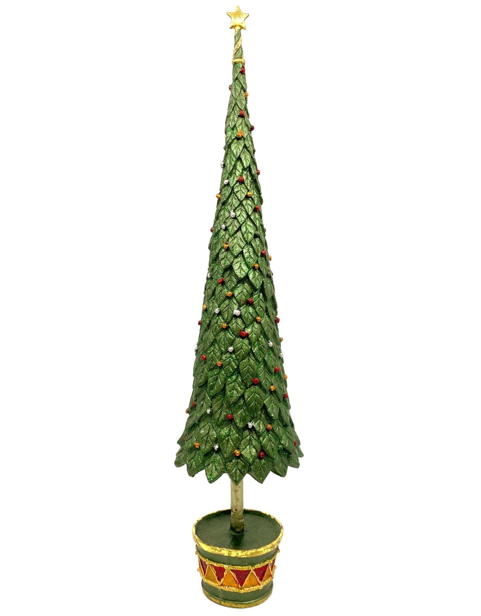 DEKORASYON LARGE NEO HOLLY TOPIARY TREE