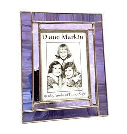 DIANE MARKIN 3.5X5 WISPY WINDOW PURPLE PICTURE FRAME