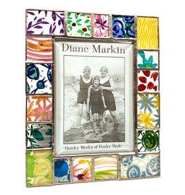 DIANE MARKIN 5X7 MULTI QUILT PICTURE FRAME