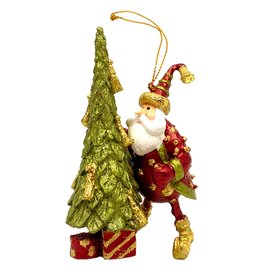 DEKORASYON TREE DECORATOR SANTA ORNAMENT