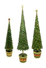 DEKORASYON MEDIUM NEO HOLLY TOPIARY TREE
