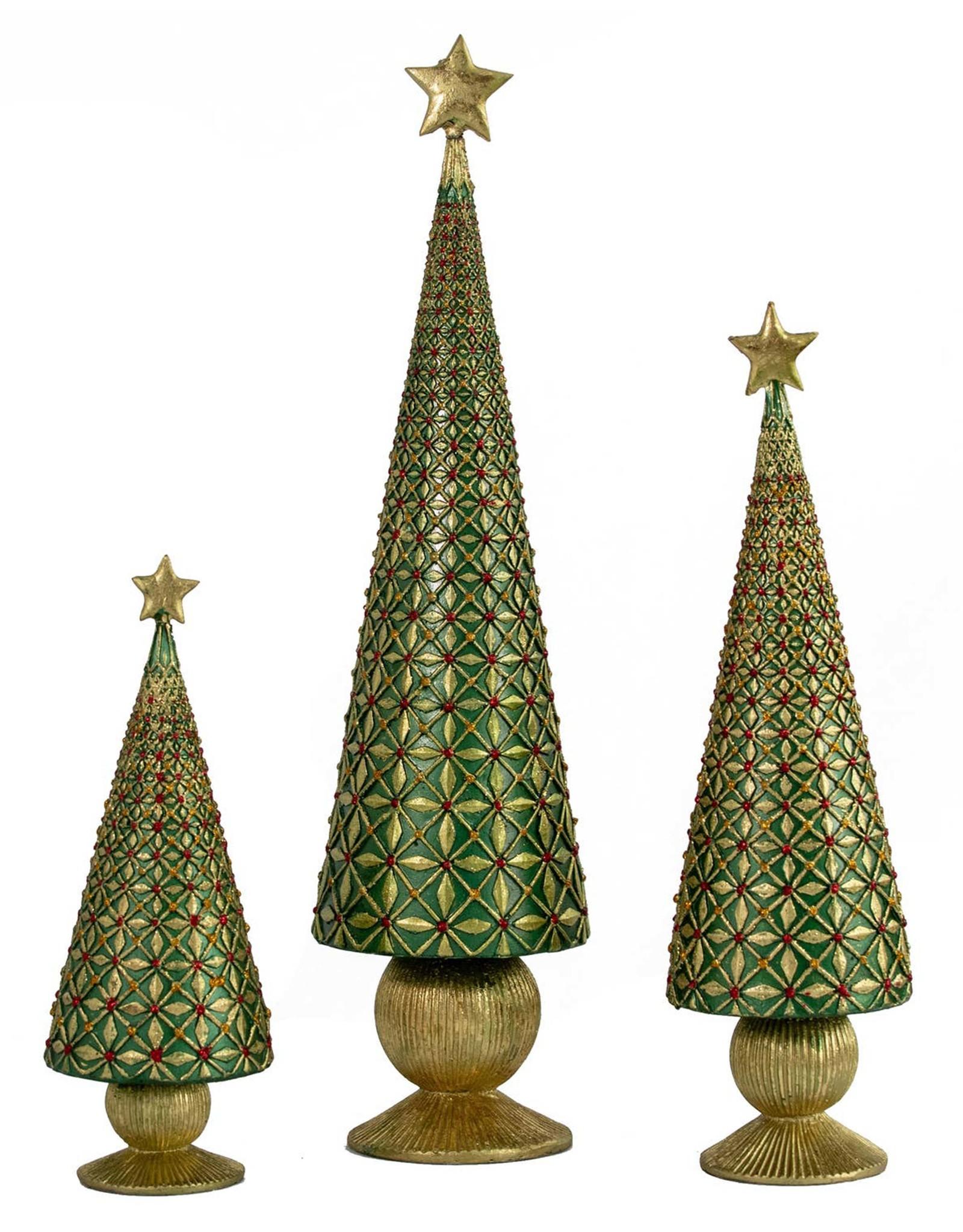 DEKORASYON SMALL DIAMOND BURST CONE TREE