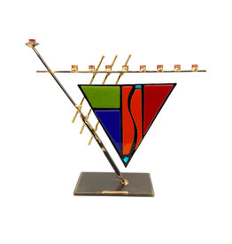 GARY ROSENTHAL COLLECTION ART DECO MENORAH