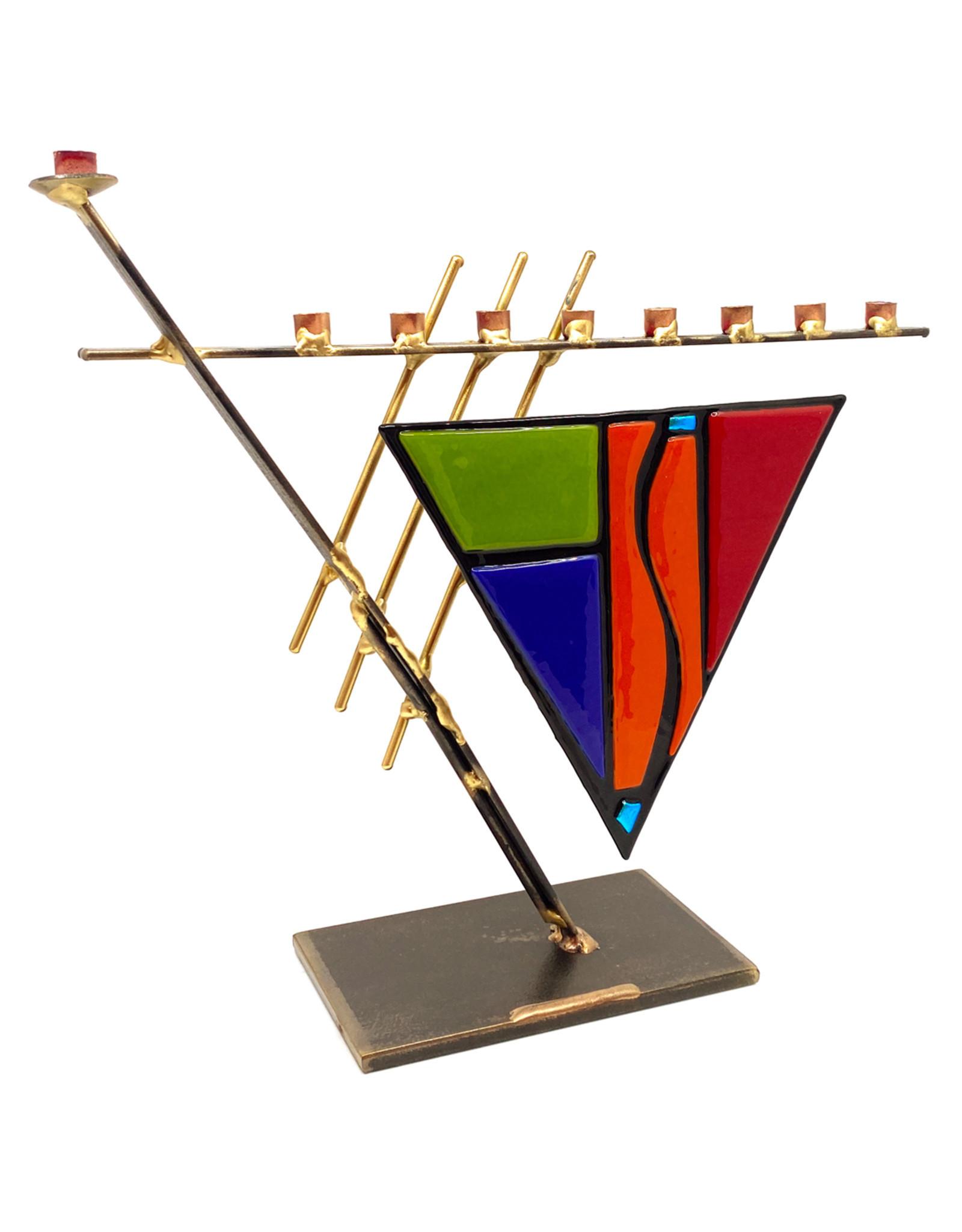 GARY ROSENTHAL COLLECTION ART DECO MENORAH