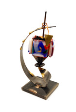 GARY ROSENTHAL COLLECTION CURVED DREIDEL