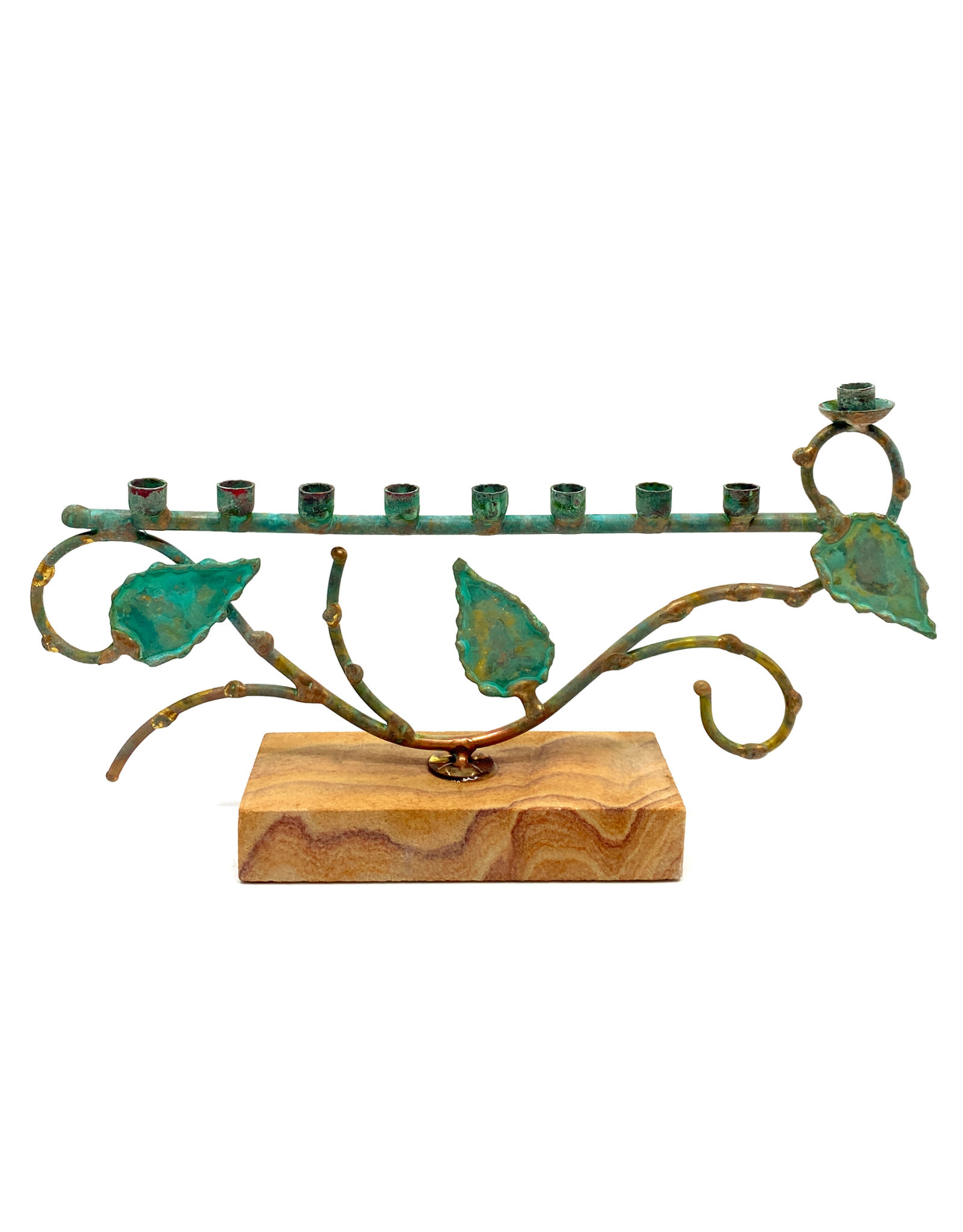 GARY ROSENTHAL COLLECTION TREE OF LIFE MENORAH