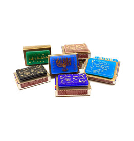 GARY ROSENTHAL COLLECTION CHANUKAH MATCHBOX