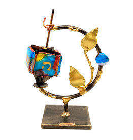 GARY ROSENTHAL COLLECTION TREE OF LIFE DREIDEL